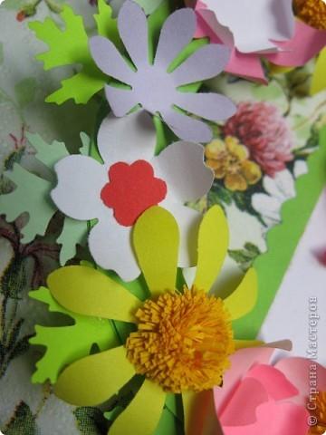 """""""Срочная"""" открытка на день рождения. Хотелось передать июльский жар лета, луговое цветение и добела выцветшее небо фото 6"""
