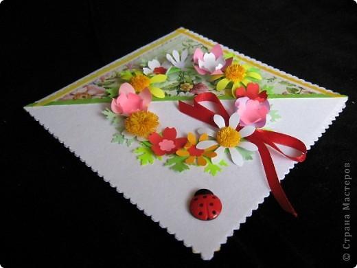 """""""Срочная"""" открытка на день рождения. Хотелось передать июльский жар лета, луговое цветение и добела выцветшее небо фото 4"""