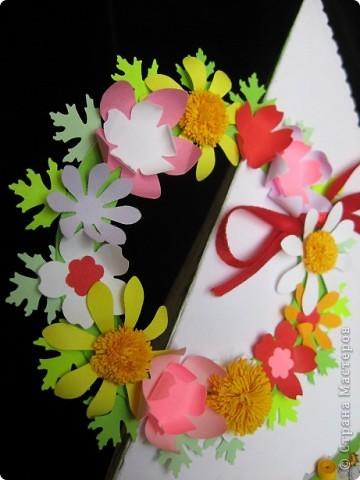 """""""Срочная"""" открытка на день рождения. Хотелось передать июльский жар лета, луговое цветение и добела выцветшее небо фото 9"""