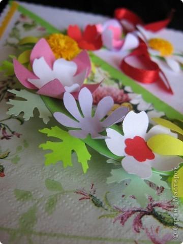 """""""Срочная"""" открытка на день рождения. Хотелось передать июльский жар лета, луговое цветение и добела выцветшее небо фото 7"""