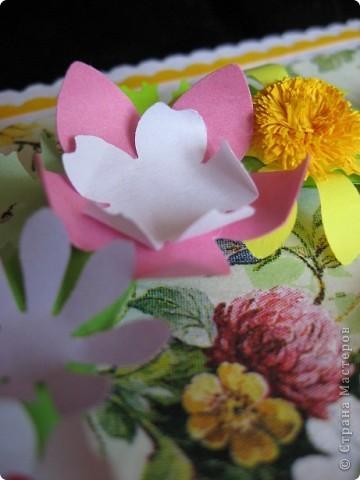 """""""Срочная"""" открытка на день рождения. Хотелось передать июльский жар лета, луговое цветение и добела выцветшее небо фото 8"""
