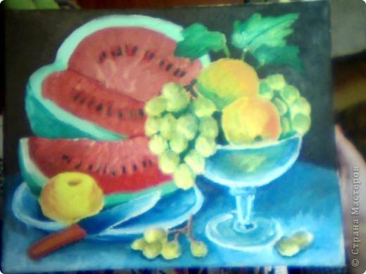 """натюрморт  """"фрукты"""""""