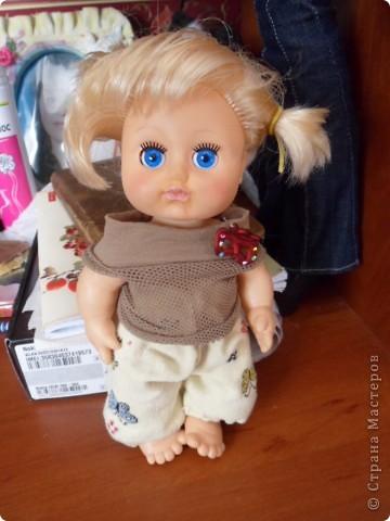 Вот так я решила преобразить кукляшку))))))) фото 1