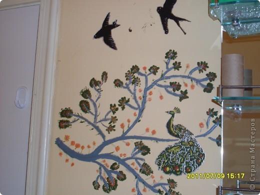 решили украсить стену фото 2
