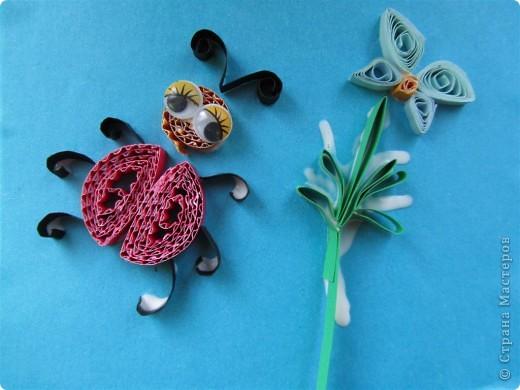 бабочки -стрекозки - совместная работа детишек 5-12 лет фото 2