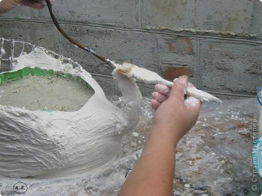 Вот наконец-то доделала пару своей лебёдушки и спешу поделиться с Вами МК фото 12
