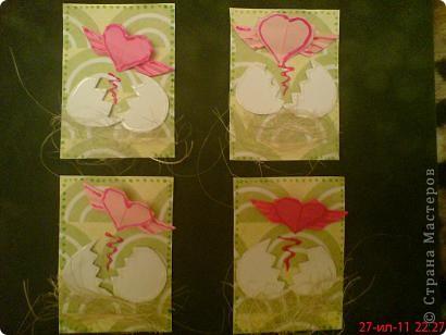 Увидела  у Innyska   МК этого сердечка из бумаги и так оно мне понравилось, что захотелось куда -нибудь  пристроить) фото 1