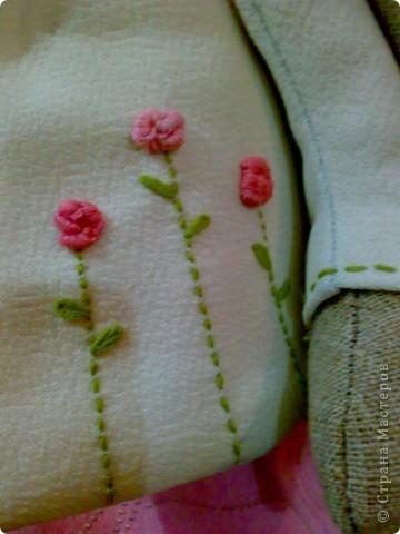 Романтичная получилась зайка, вся в цветочках и мечтах. фото 3