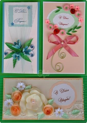 Пополняю ряды поздравительных открыток - уж очень быстро они расходятся. фото 1