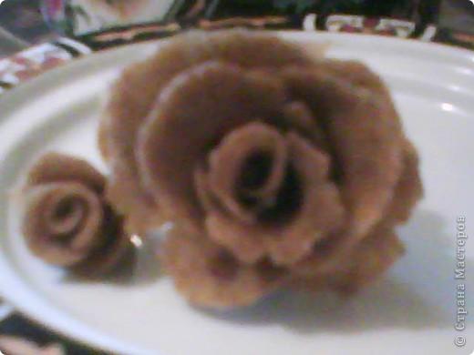 Роза из хлеба