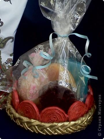 Моё любимое творение! Тзддика я сделала из сол.теста, на нём и сверху декупажные бабочки фото 7