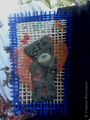Моё любимое творение! Тзддика я сделала из сол.теста, на нём и сверху декупажные бабочки фото 1