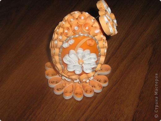 Вот такой Пасхальный сувенир...его я делала 2 выходных дня. фото 2
