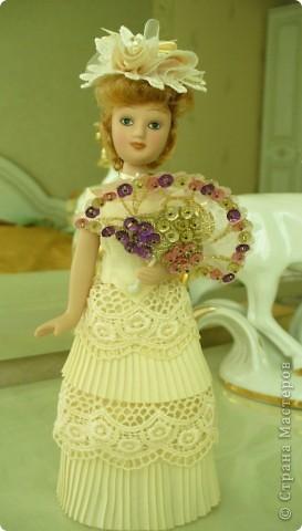Кукла в первоначальном виде. фото 5