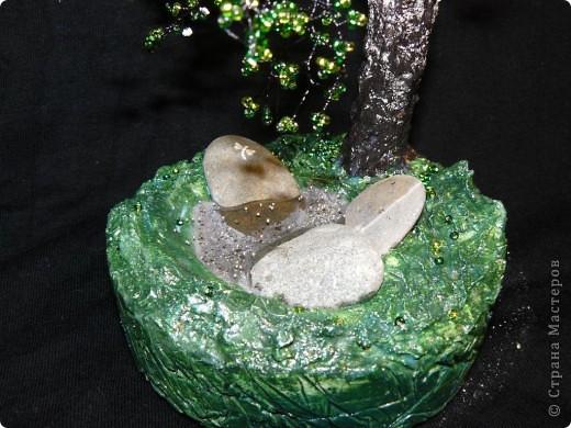 Моё первое дерево из бисера. Берёза. фото 2