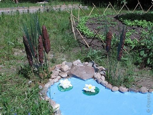 Вот такой пруд теперь есть в нашем детском саду!  фото 2