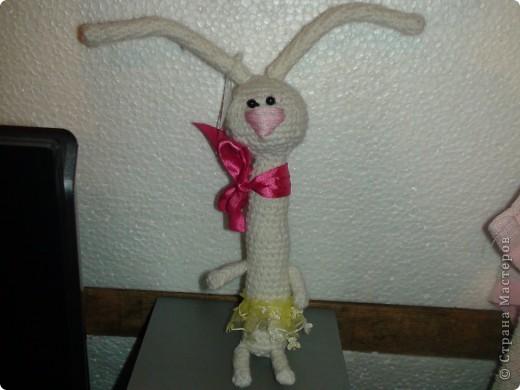 Вдохновителем для этик зайцев явилась Жанна С, надеюсь она не обидеться, что мы у нее стырили идею. Знакомьтесь это Марли и Ия, имена придумала после просмотра фильма Марли и я. Жанночки спасибо за вдохновение. фото 3