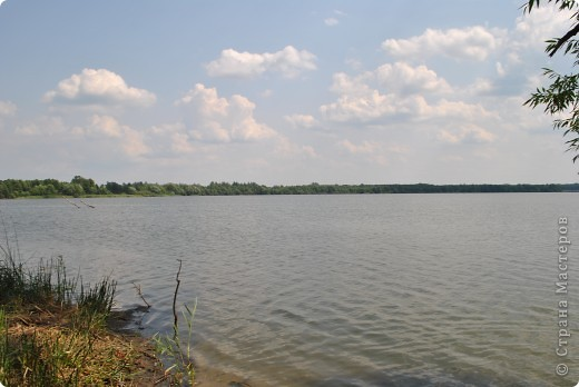 Вот такое огромное озеро находится в пригороде города Шатура Московской области фото 2