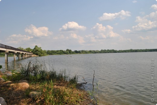 Вот такое огромное озеро находится в пригороде города Шатура Московской области фото 1