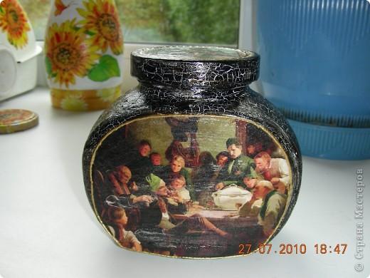 Первая работа в росписи бокалов.  фото 7