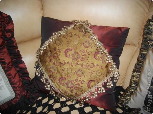 Винтажные подушки фото 5