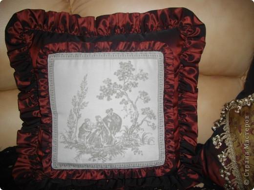 Винтажные подушки фото 4