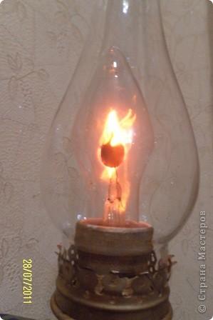 как-то муж нашел на чердаке старую керосиновую лампу.... фото 6
