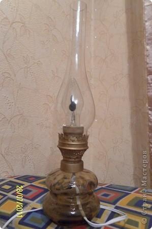 как-то муж нашел на чердаке старую керосиновую лампу.... фото 4