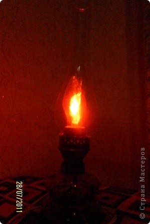 как-то муж нашел на чердаке старую керосиновую лампу.... фото 7