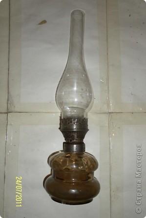 как-то муж нашел на чердаке старую керосиновую лампу.... фото 1