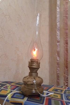 как-то муж нашел на чердаке старую керосиновую лампу.... фото 5