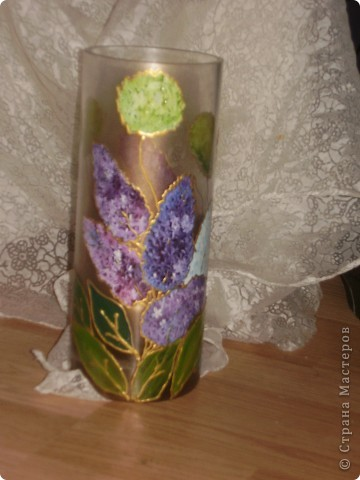 роспись вазы! фото 2
