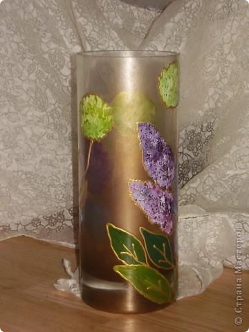 роспись вазы! фото 3