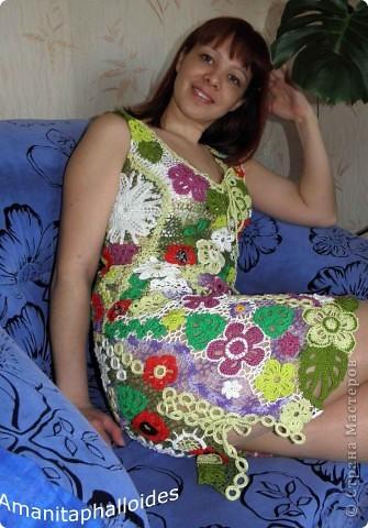 "Летнее платье ""ПозитиFF"" фото 1"