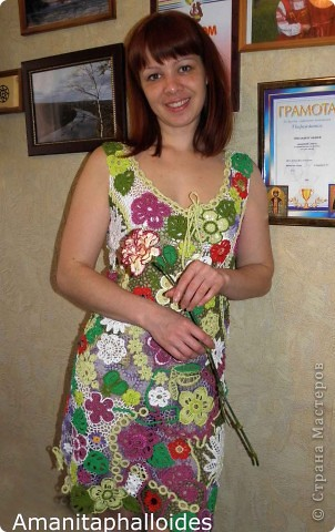 "Летнее платье ""ПозитиFF"" фото 2"