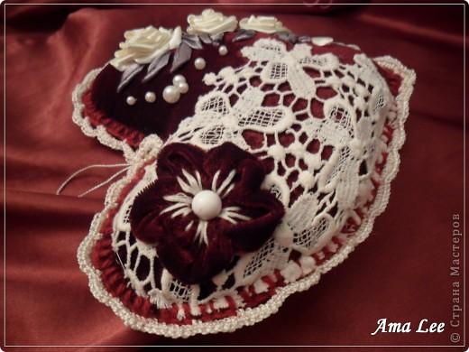"""Доброго Лета!  Сердечки подарочные, из моей любимой серии """"слепила из того, что было"""". :))) фото 10"""