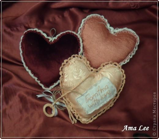 """Доброго Лета!  Сердечки подарочные, из моей любимой серии """"слепила из того, что было"""". :))) фото 11"""