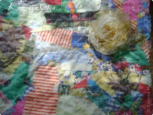 Вот наконец и я сотворила нечто похожее на цветок,а сподвигли меня МК Леночки и ещё один старенький МК  http://stranamasterov.ru/node/63626 http://stranamasterov.ru/node/215164?c=favorite фото 4