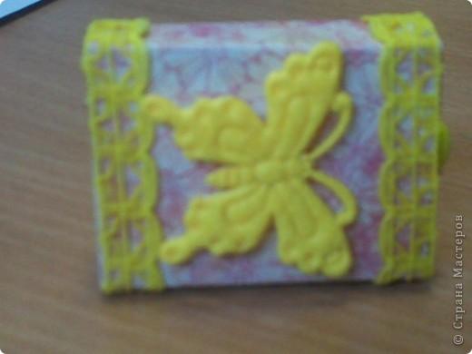 Вот такой matchbox пришел от Alena 090382 фото 1