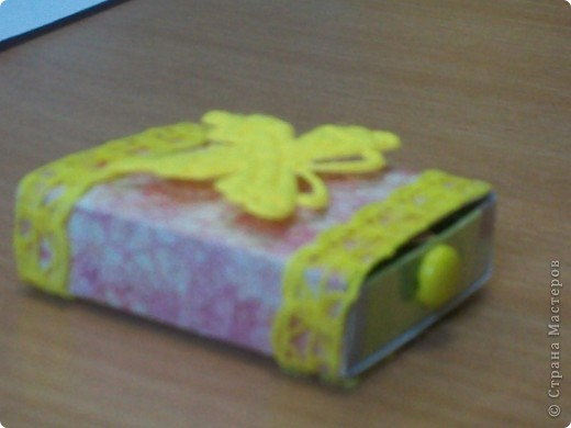Вот такой matchbox пришел от Alena 090382 фото 2