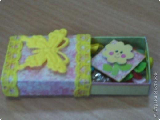 Вот такой matchbox пришел от Alena 090382 фото 3