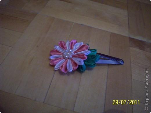 мои первые цумами канзаши. фото 3