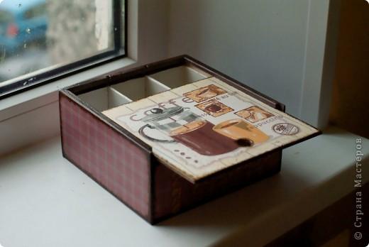 Коробочка для чая в подарок сестре фото 2