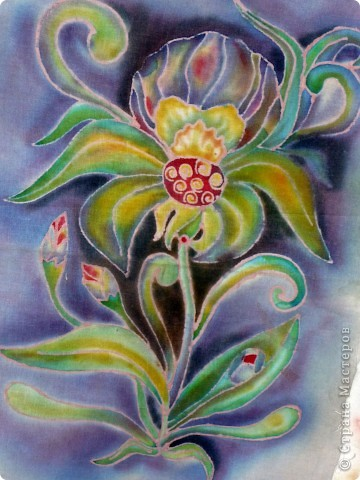Цветочек (батик) фото 2