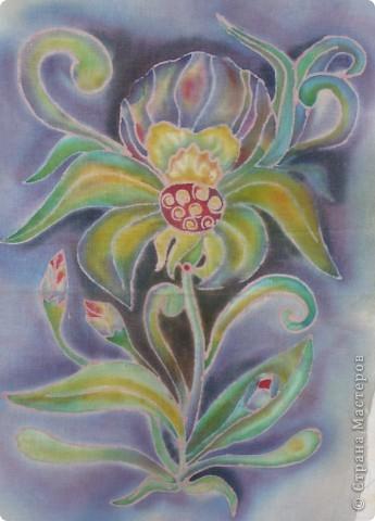 Цветочек (батик) фото 1