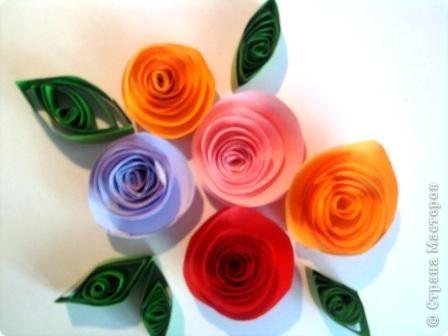 Открытка с цветами. фото 1
