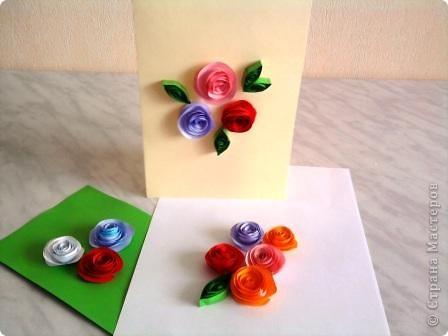 Открытка с цветами. фото 10