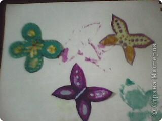 Вот такие миленькие и маленькие бабочки у меня получились! )) фото 9