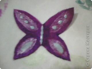 Вот такие миленькие и маленькие бабочки у меня получились! )) фото 10
