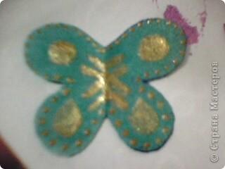 Вот такие миленькие и маленькие бабочки у меня получились! )) фото 12